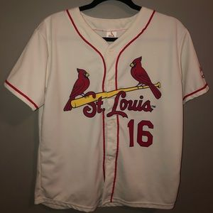 Kolten Wong St. Louis Cardinals ivory jersey